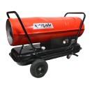 Nagrzewnica olejowa bez odprowadzania spalin Xaram Energy Z-Fire ZF-100