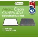 Filtr do oczyszczacza Meaco Clean CA-HEPA 47x5