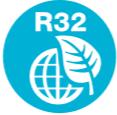 R32 fluid.Klimatyzator okienny Airwell WFD009