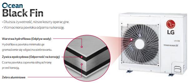 Pompa ciepła LG HU051MR / HN0916M