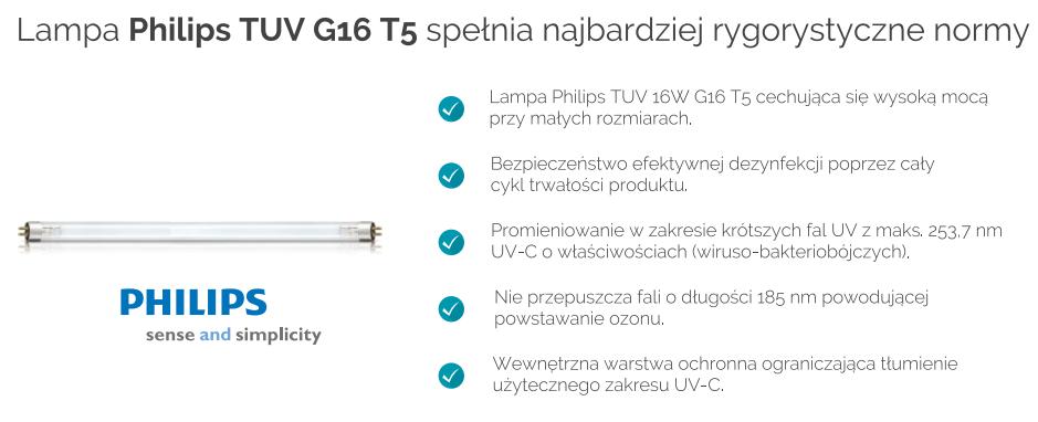 Sterylizator Warmtec MED-80UVC lampy