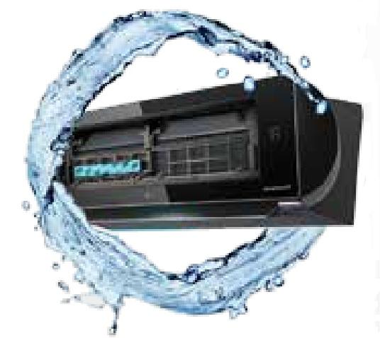 Automatyczne oczyszczanie w klimatyzatorze ściennym AC24BQ Artcool Mirror