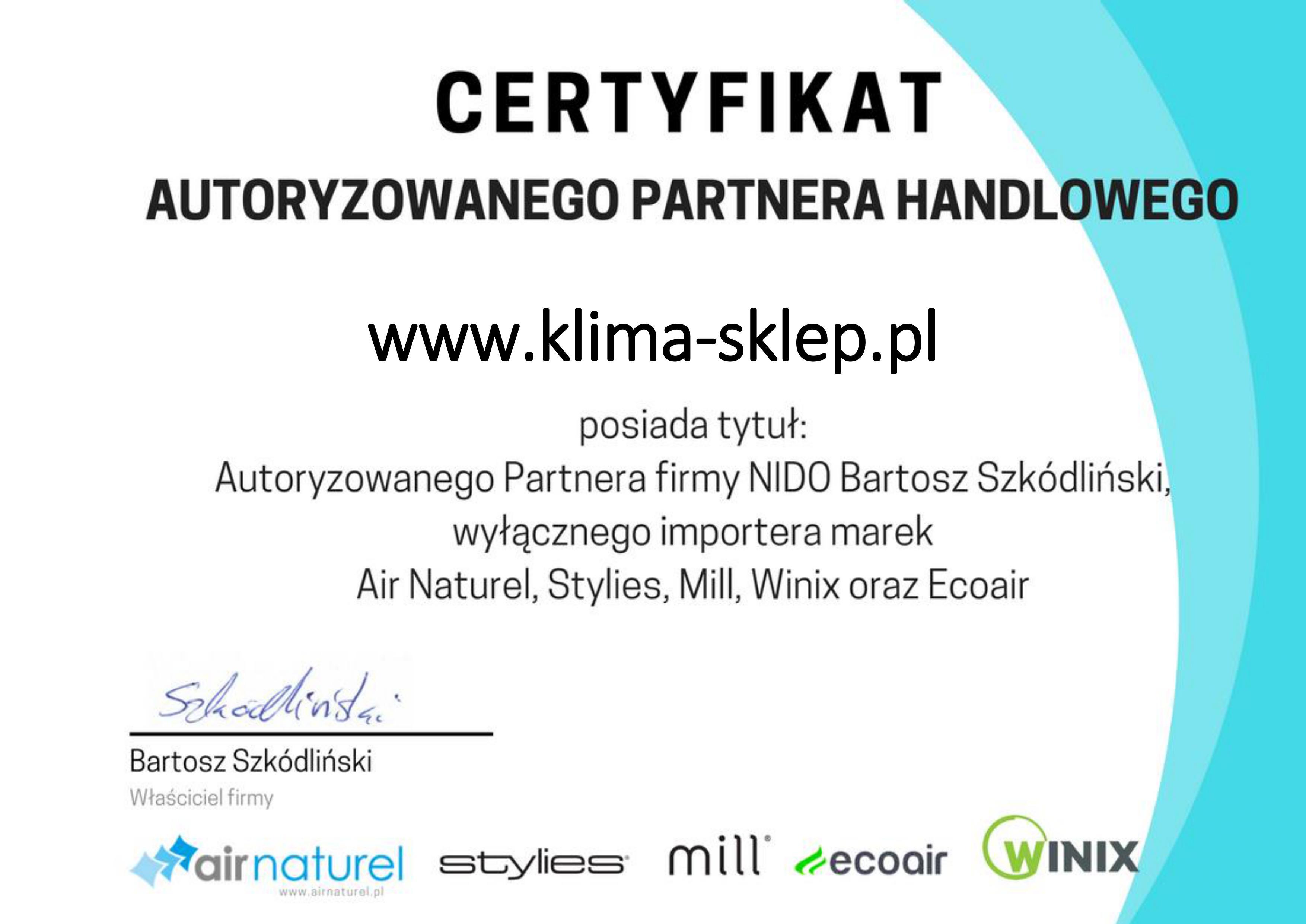 Certyfikat Airnaturel, Stylies